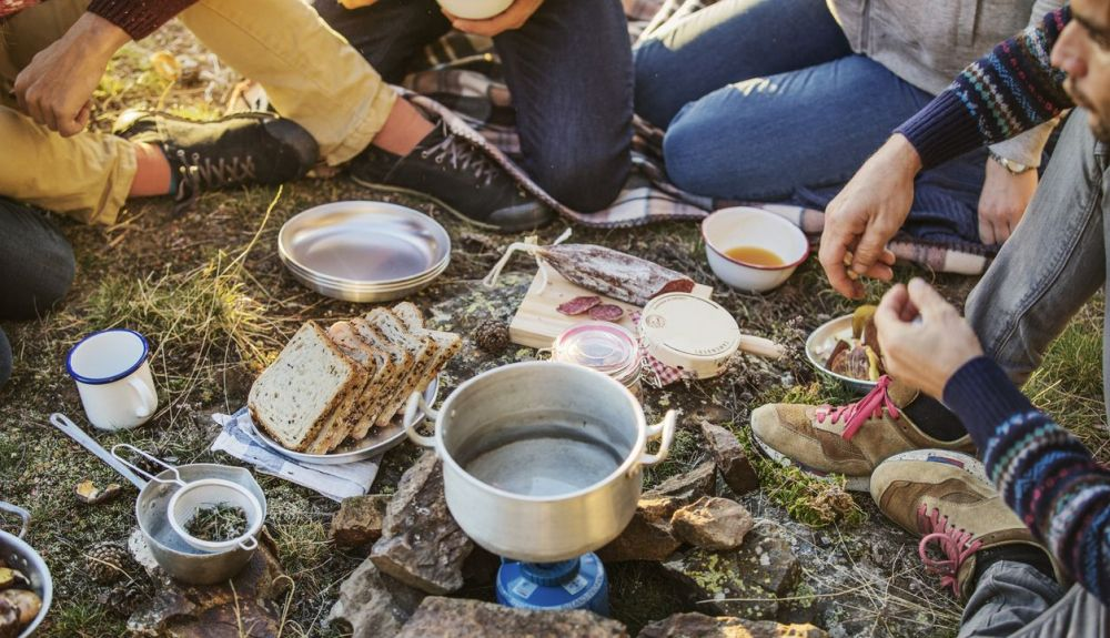 Planea el menú del trekking