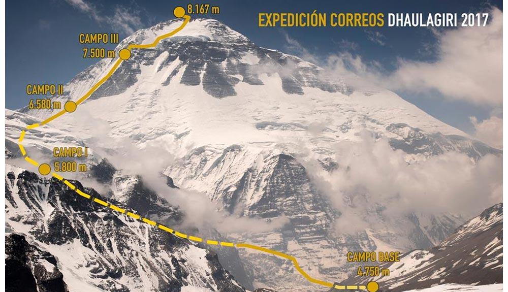 Vídeo: Carlos Soria llega al Campo Base del Dhaulagiri