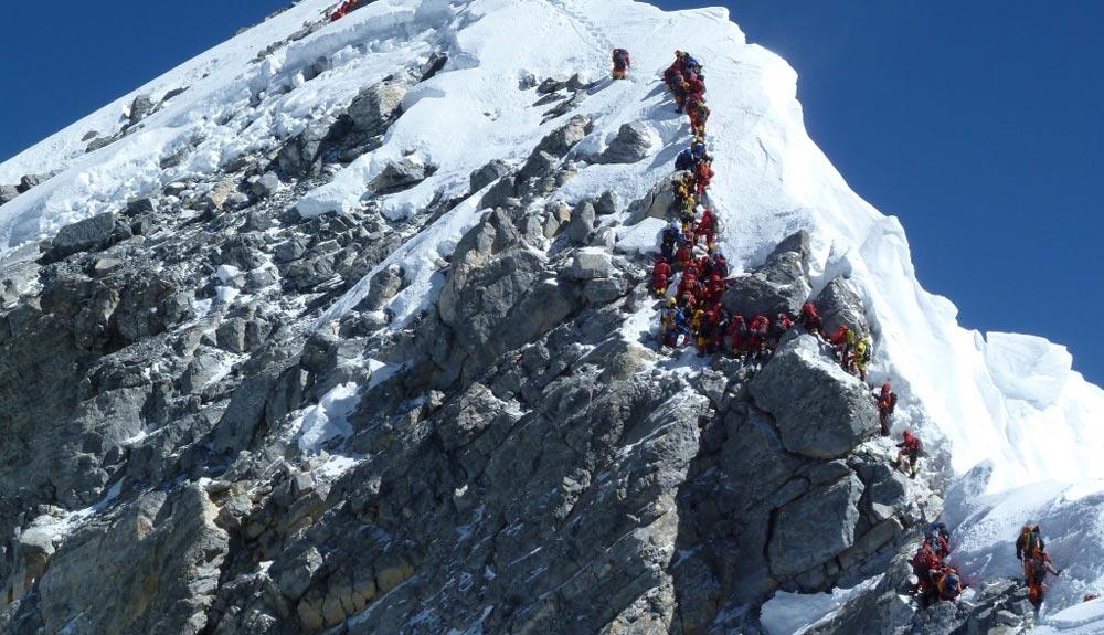 ¿Ha desaparecido el Escalón Hillary del Everest?