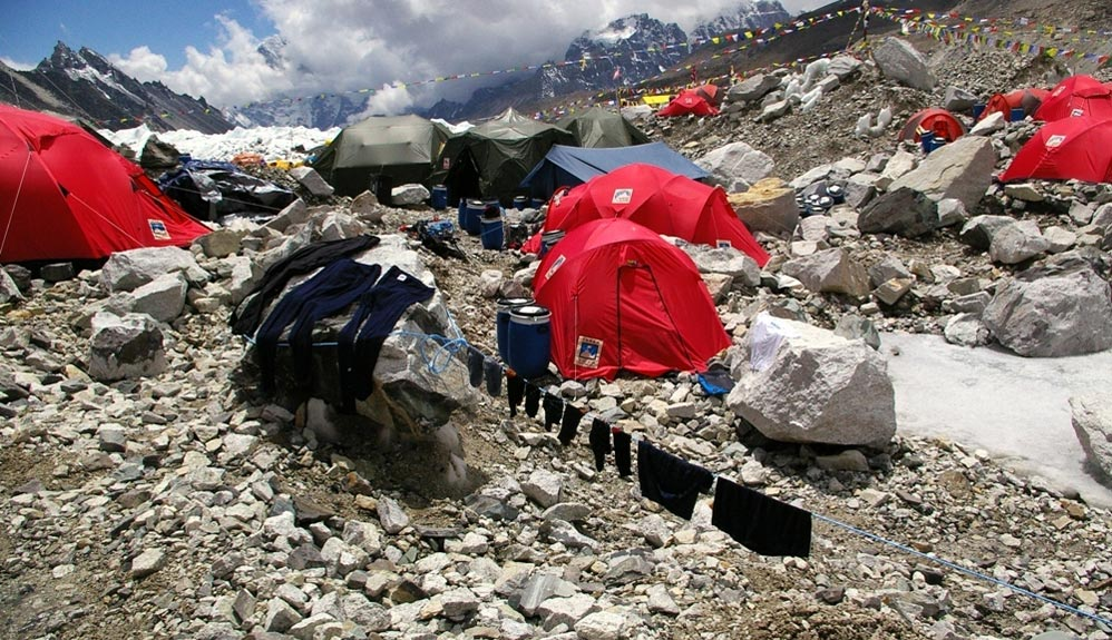 ¿Puede lavarse el material de montaña?
