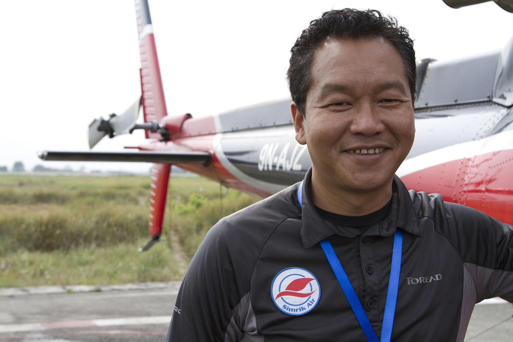 Un premio para los rescatadores en el Himalaya