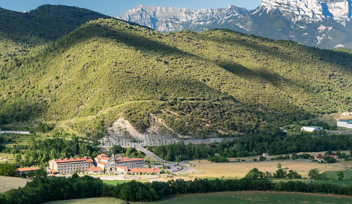 El paraíso biker del Pirineo Central