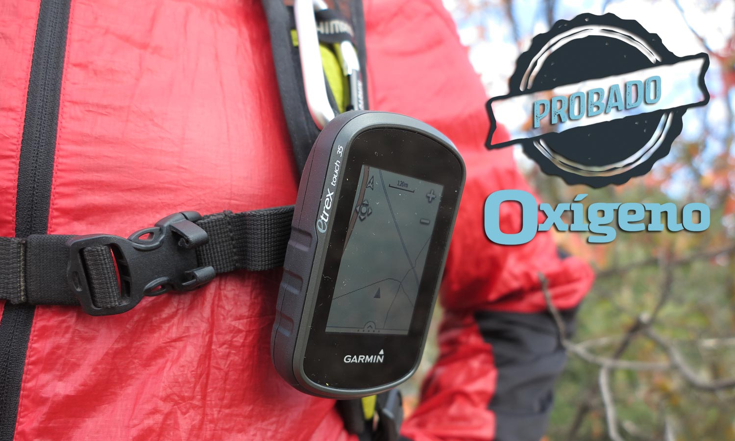 Test: eTrex Touch 35 de Garmin
