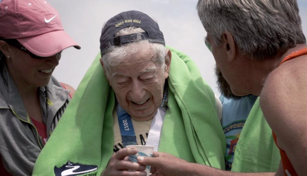 Corriendo por montaña con 97 años