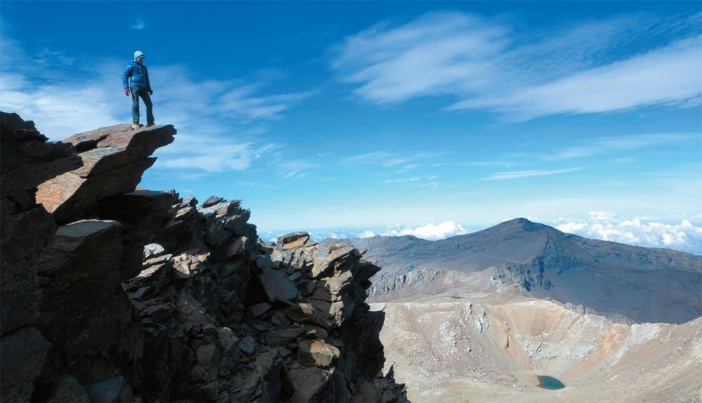 Los tresmiles de Sierra Nevada