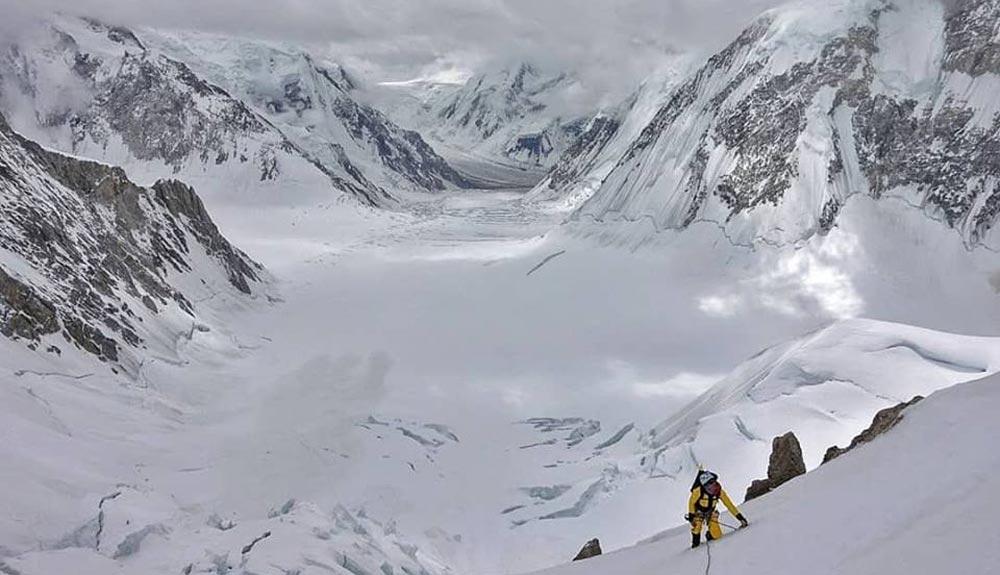 Barmasse y Göttler listos para el ataque al Gasherbrum IV