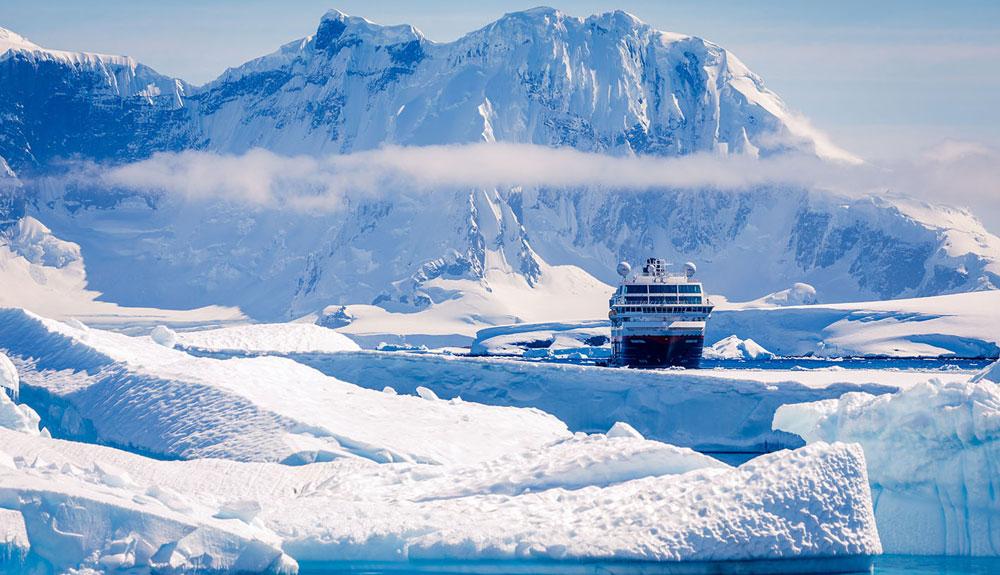 Nuevos itinerarios Hurtigruten por la Antártida
