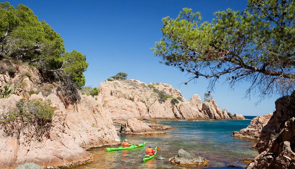 La Costa Brava en kayak
