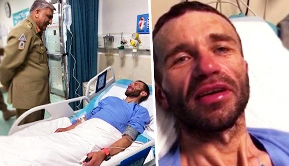 """Alexander Gukov: """"De noche soñaba que ya estaba en casa"""""""