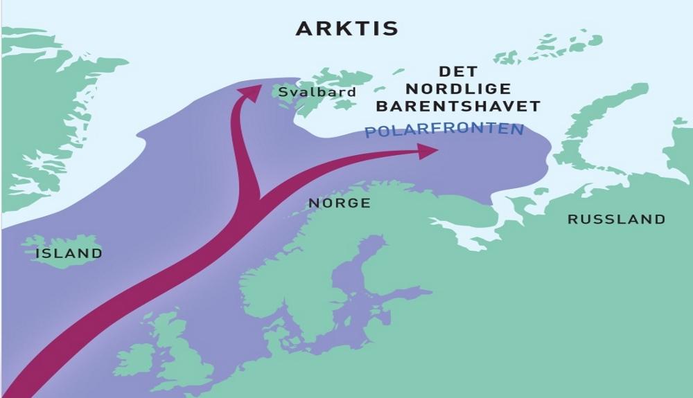 El Océano Ártico se derrite por la llegada de aguas cálidas atlánticas