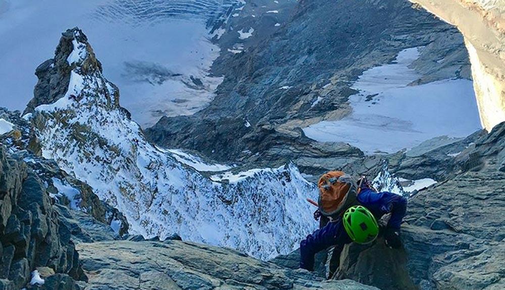 Andreas Steindl y François Cazanelli escalan las cuatro aristas del Cervino ¡en 16 horas!