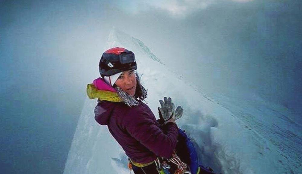 Liv Sansoz escala todos los cuatromiles de los Alpes