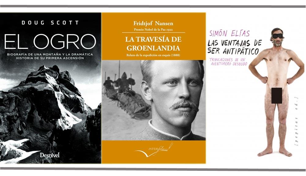 3 nuevos libros esenciales para vuestra biblioteca de aventuras