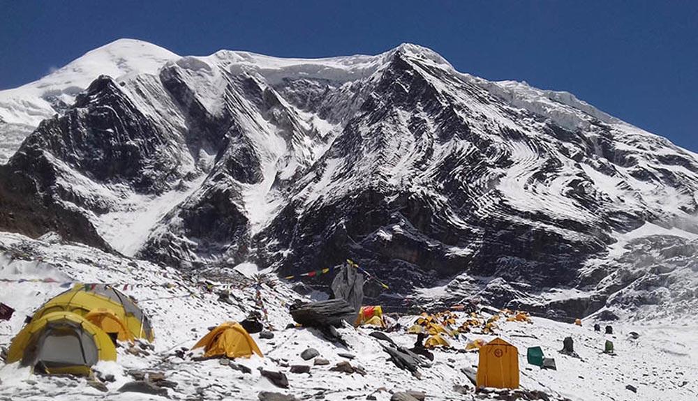 Un sherpa desaparecido en el Dhaulagiri