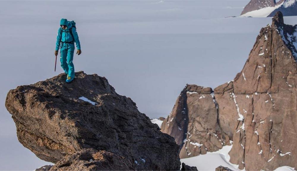 Aventureros superlativos en la Antártida