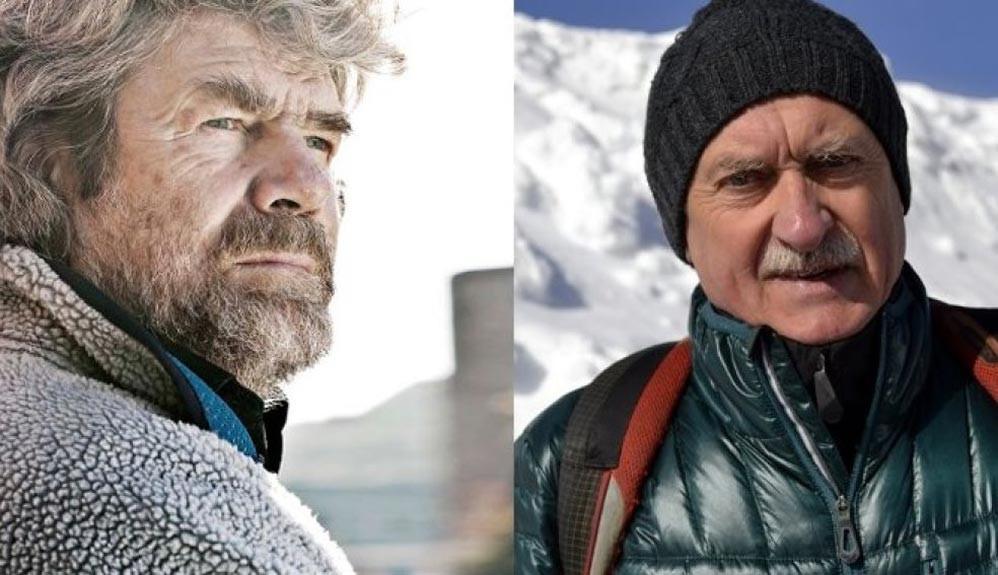 Paraísos verticales con Messner y Wielicki