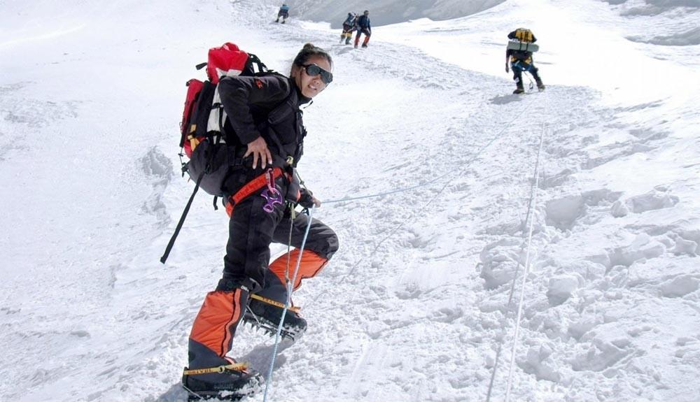 Lhakpa Sherpa en busca de patrocinio