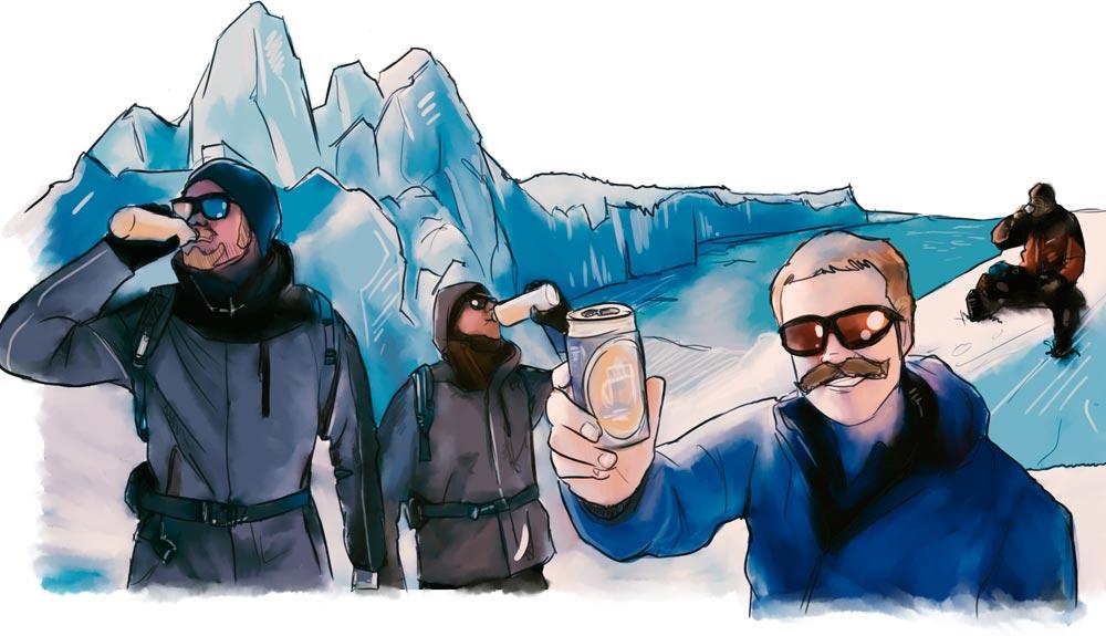 Relatos insólitos de guías de montaña