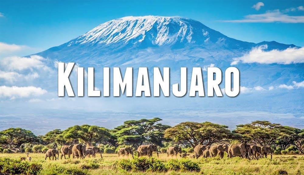 Así es hacer parapente desde la cima del Kilimanjaro
