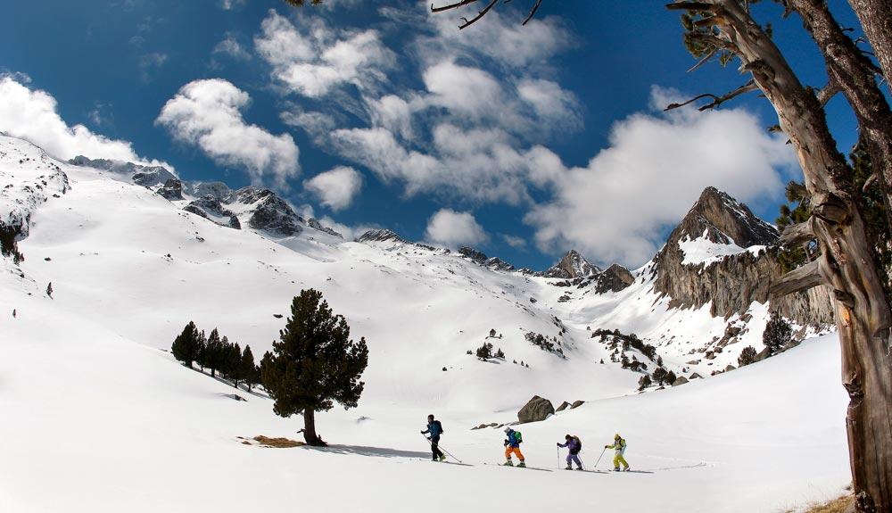 10 caras norte para esquí de travesía