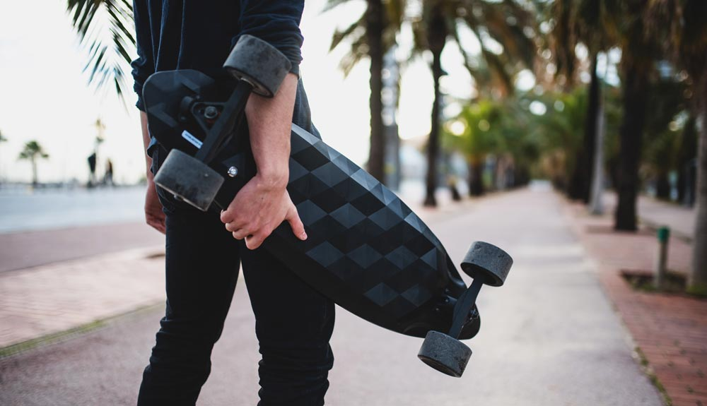 Skates eléctricos para ciudades más verdes