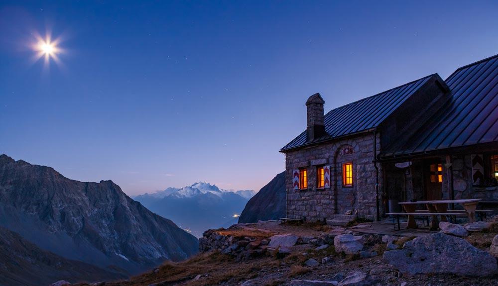 ¿En qué se parece un refugio de montaña a un hotel de 5 estrellas?