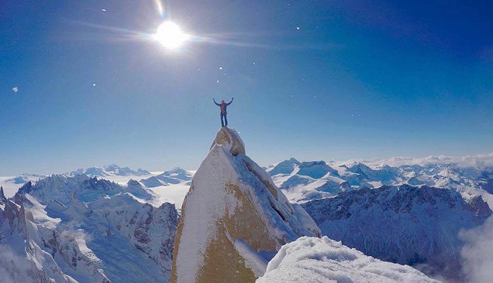 Cómo sobrevivir a Patagonia en invierno y en solitario