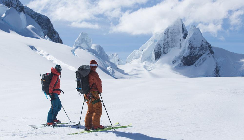 Cordillera Sarmiento: roca, hielo y nieve