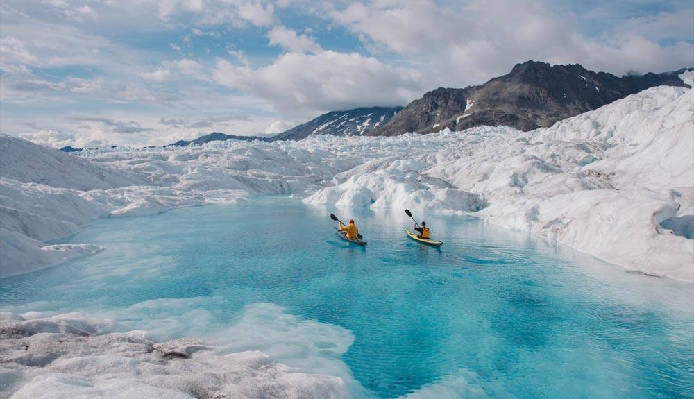¿Se puede cruzar el Paso del Noroeste en kayak?