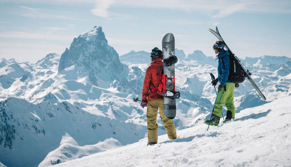 Gourette: en un lugar de los Pirineos