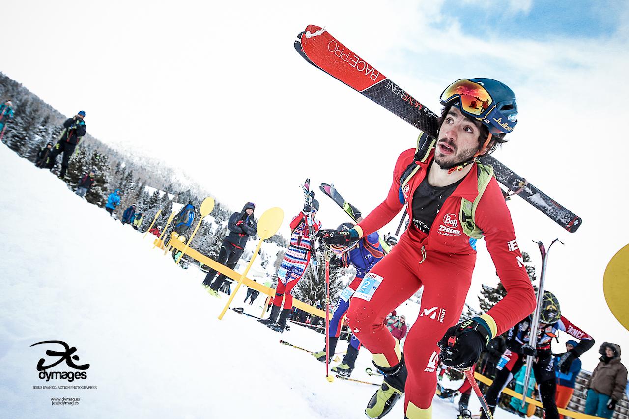 Sexta plata para Claudia Galicia en la Copa del Mundo de Skimo