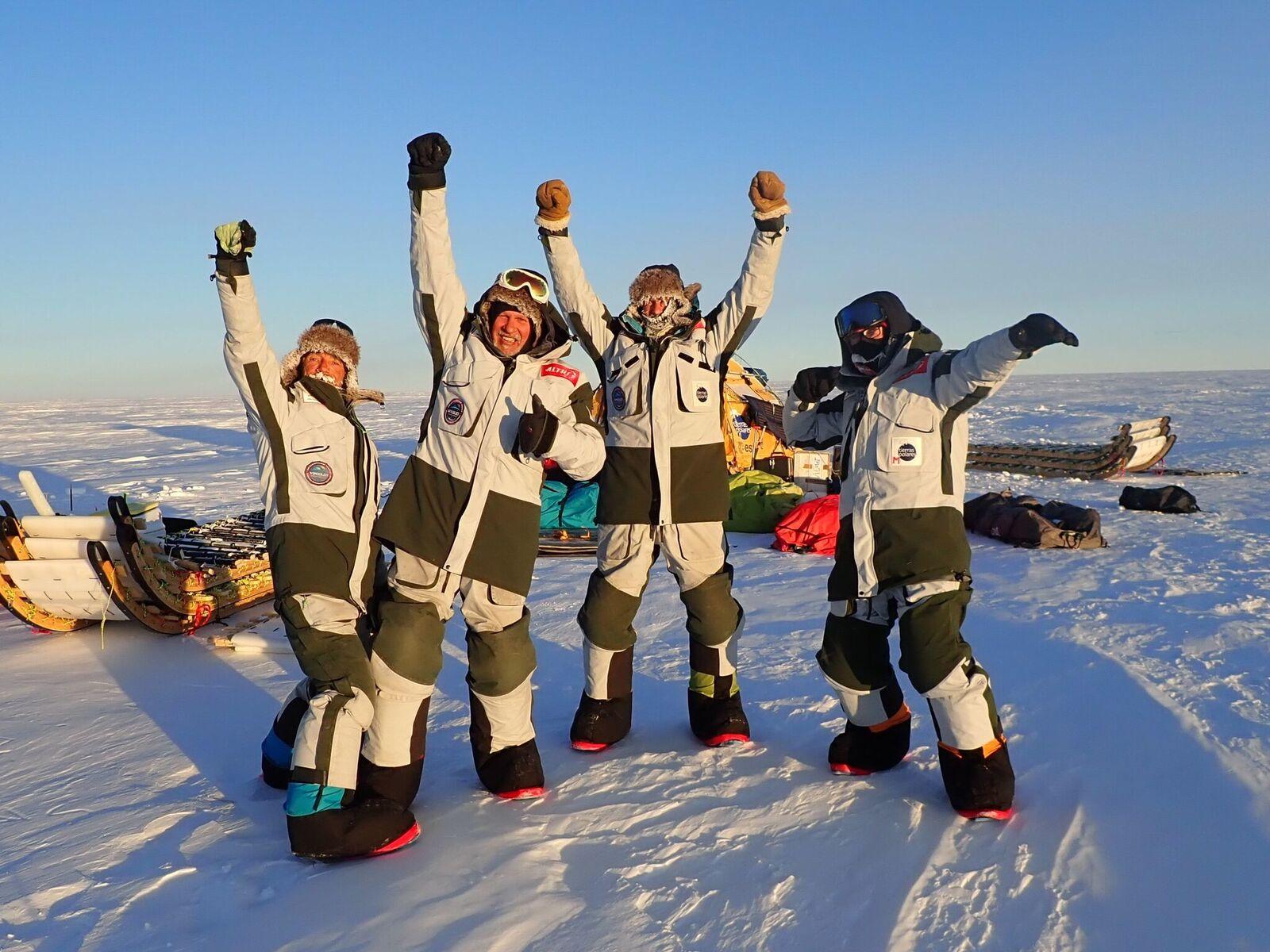 El Trineo de Viento culmina con éxito su expedición en la Antártida