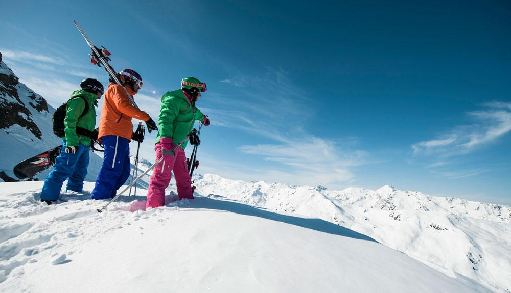 ¿Os venís a esquiar con nosotros a Austria?