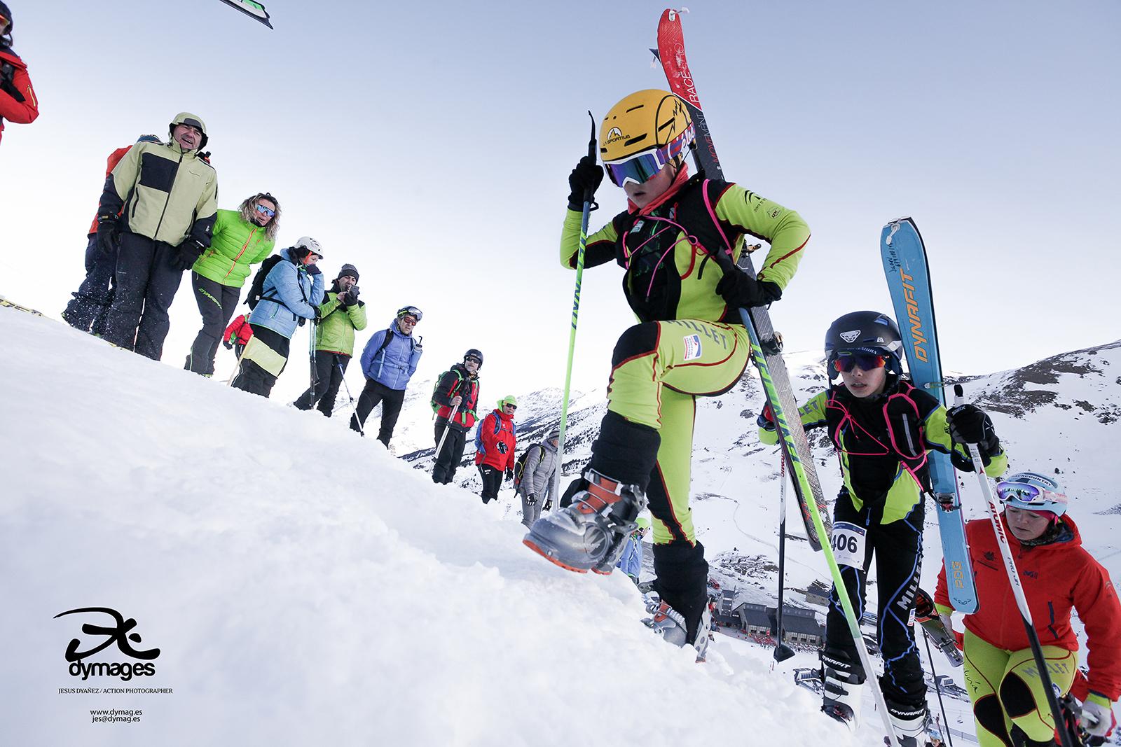 Primeros podios infantiles de la historia en skimo