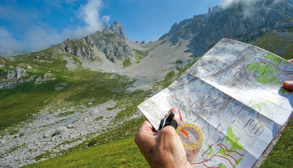 La orientación en montaña, en 6 pasos