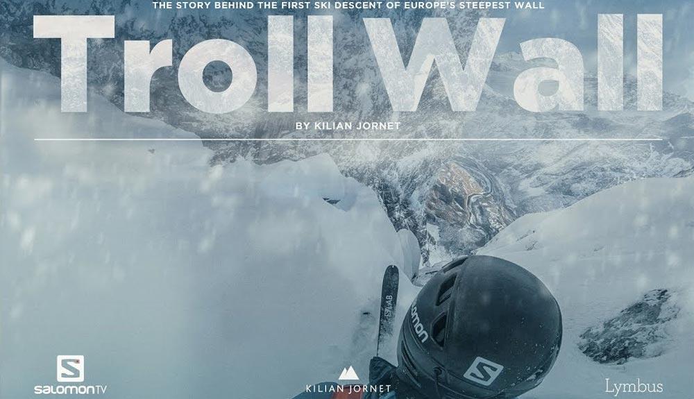 """Kilian presenta el documental """"Troll Wall"""""""