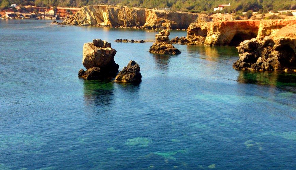 La cara más outdoor de Ibiza