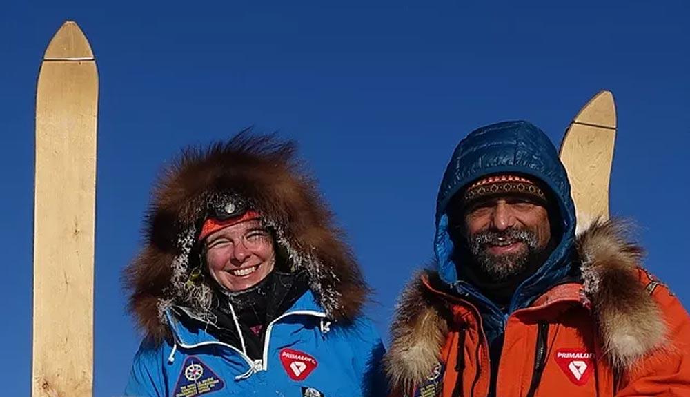 Lonnie Dupre a por una primera invernal en el Yukon