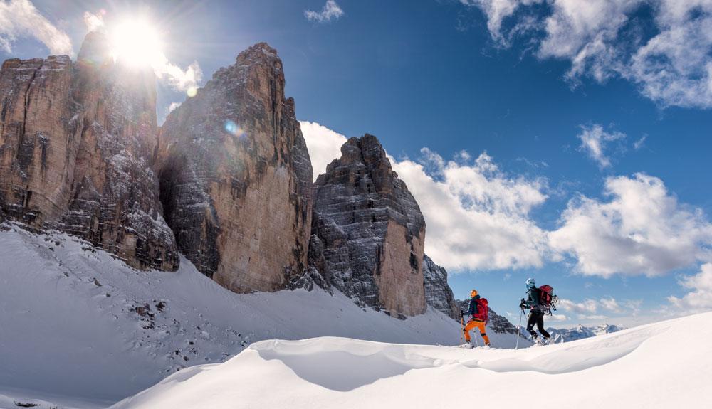 3 viajes para esquiadores todo terreno