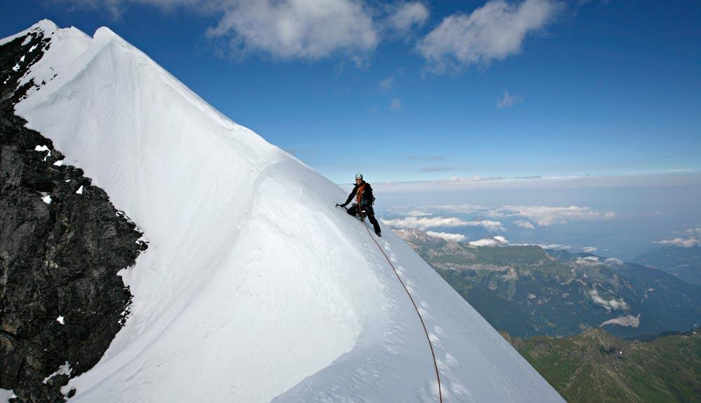 El Eiger por la arista Mittellegi