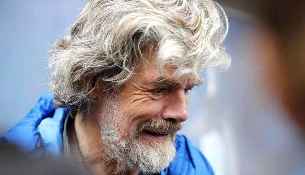 "Reinhold Messner: ""Le dije a Nardi que ir al Espolón Mummery era una estupidez"""