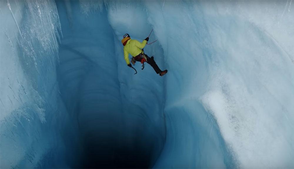 Descenso a los hielos de Groenlandia