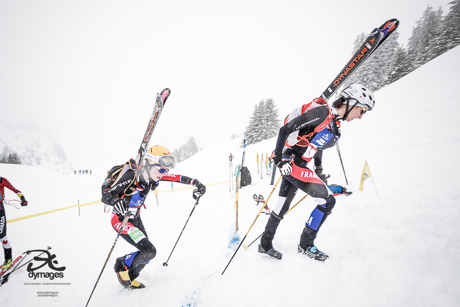 Cláudia Galicia y Marta Garcia rozan el podio por equipos