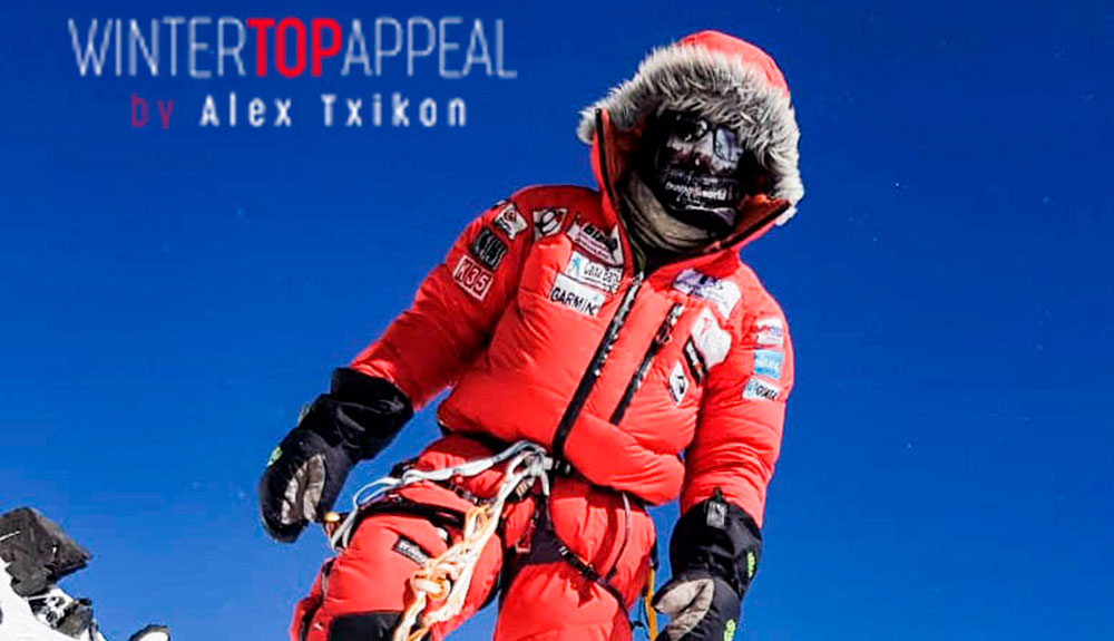 Alex Txikon relata su intento invernal al K2