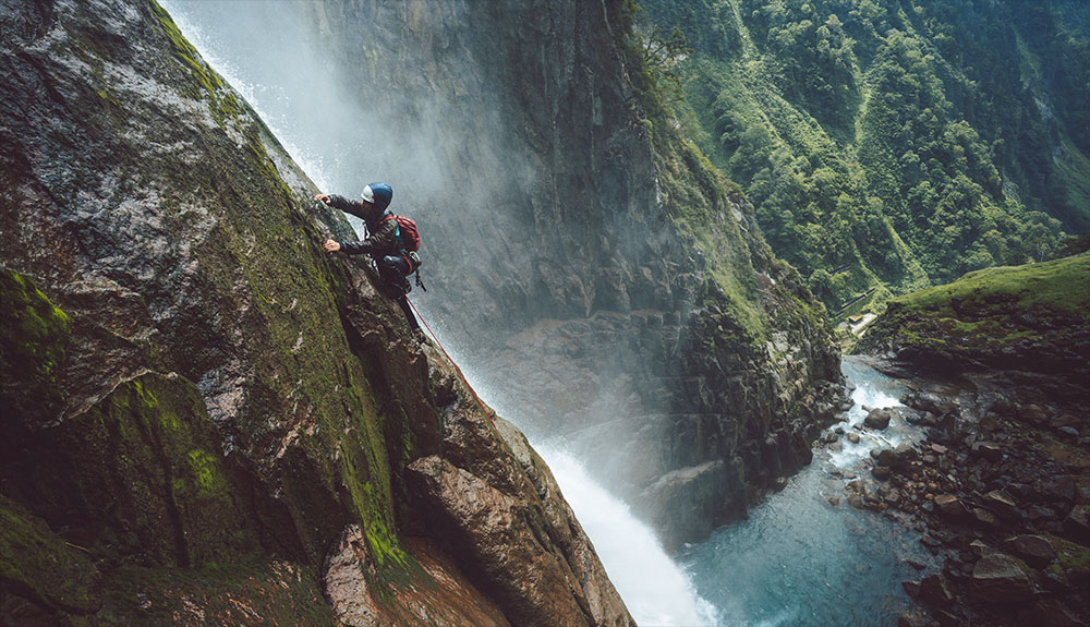 Escalando la cascada más alta de Japón