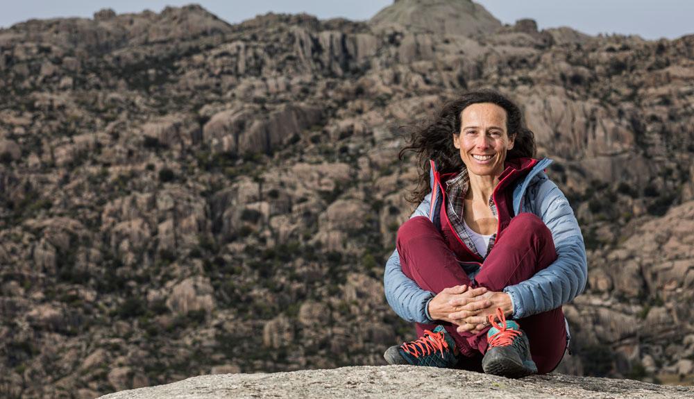Sonia Casas, alpinismo en femenino