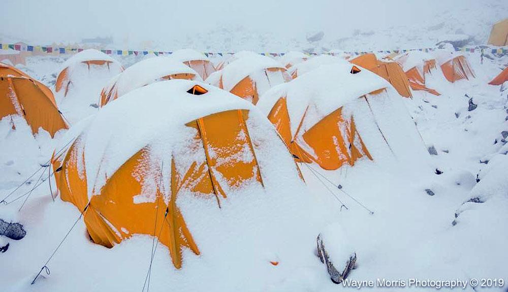 Calma tras la tormenta en el Himalaya