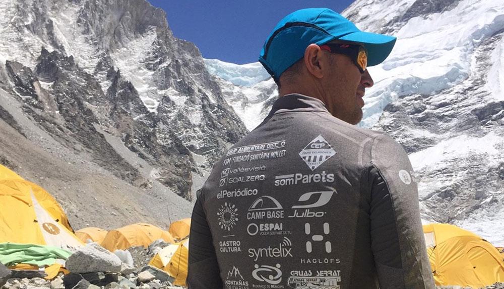 Sergi Mingote se lanza a por la cima del Lhotse