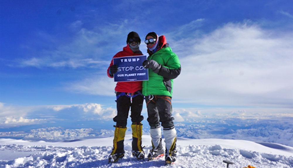 Los hermanos Romero a por el Mount Logan