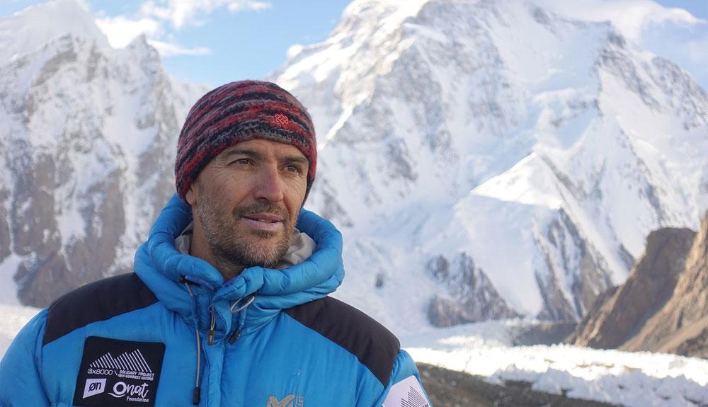 El equipo de Sergi Mingote y Ali Sadpara preparado para la cumbre del Lhotse